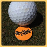 Insignia Golf Ball Marker - Orange