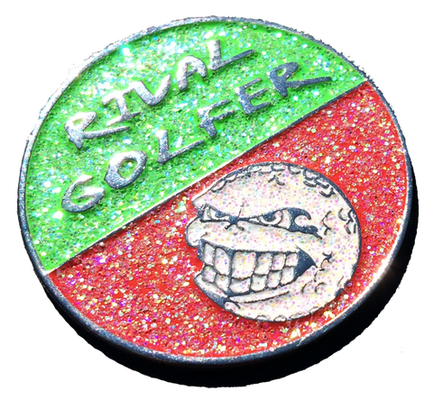 Christmas Themed Golf Ball Marker