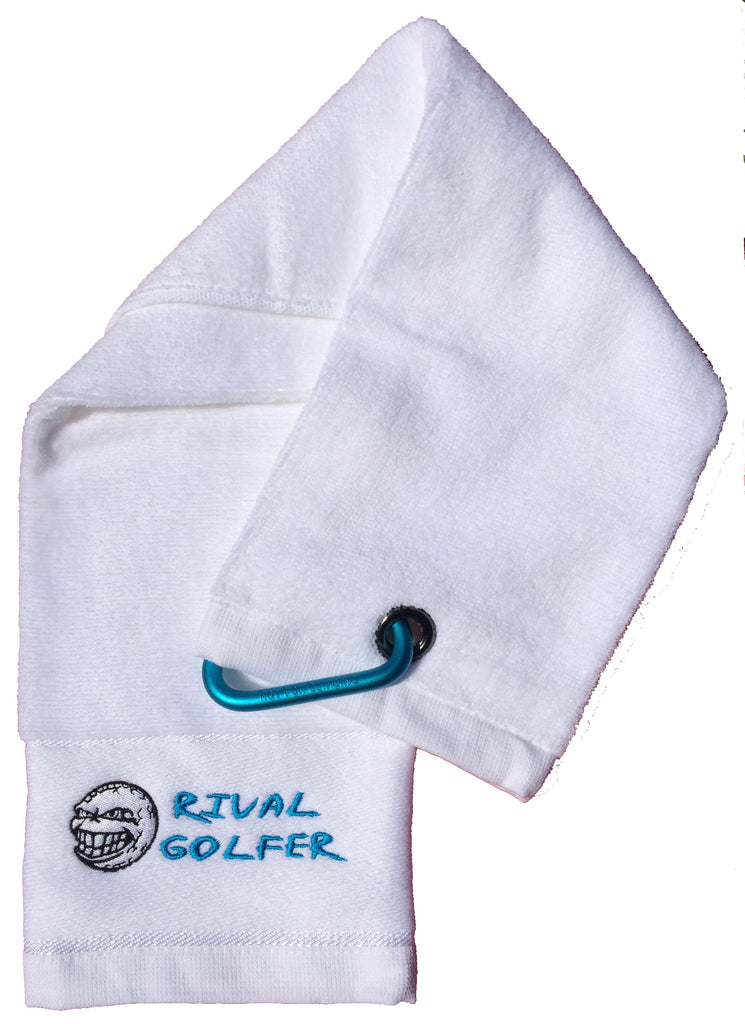 deba8ab2f30 Single Golf Towel - select your colour – Rival Golfer