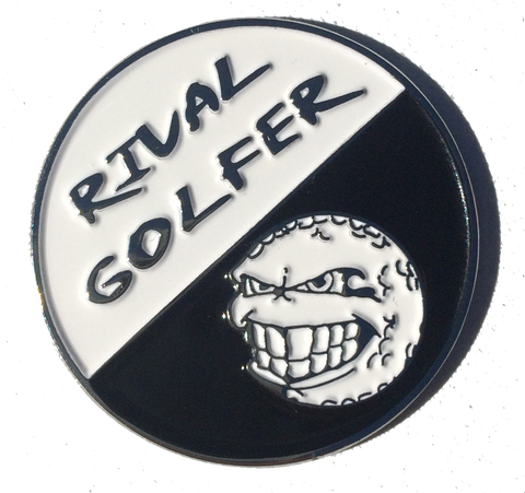 'FIFTY/FIFTY' Golf Ball Marker #6