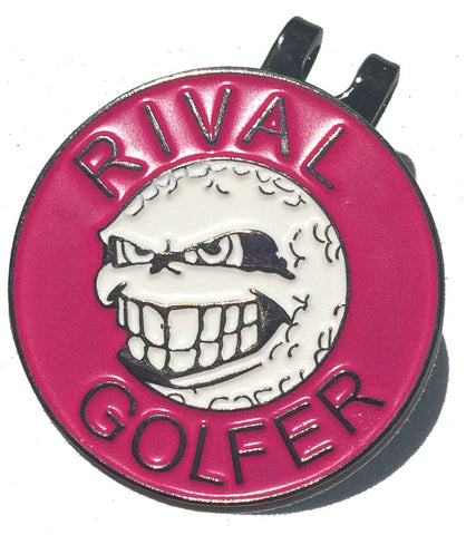 Rival's Hat Clip - Pink
