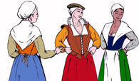 Elizabethan Women's Patterns