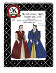 010D Sixteenth Century Lady's Doublet Digital Download