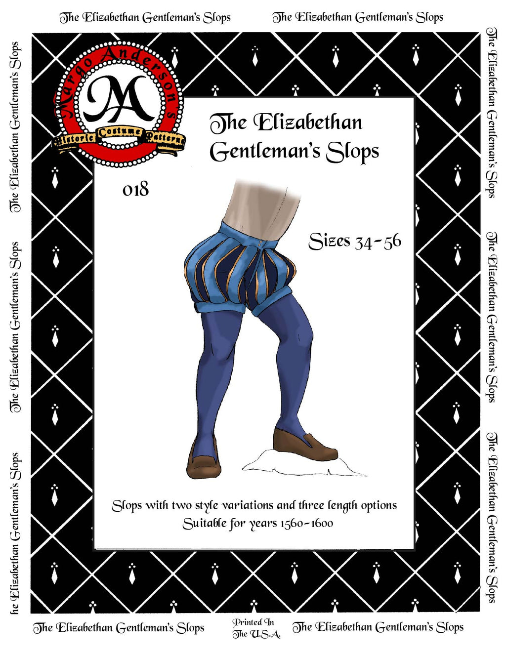 018D The Elizabethan Gentleman's Slops Digital Download