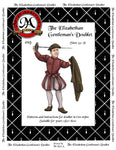 019D The Elizabethan Gentleman's Doublet Digital Download