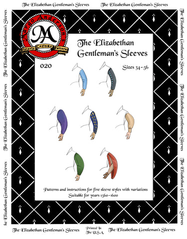 020 The Elizabethan Gentleman's Sleeves