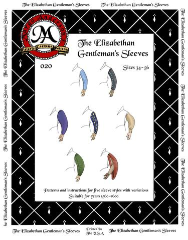 020D The Elizabethan Gentleman's Sleeves Digital Download