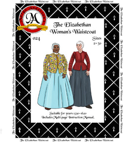 024D  The Elizabethan Waistcoat Digital Download