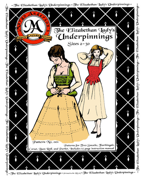 Collections – Margo Anderson's Historic Costume Patterns