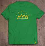 The Shining Crown irish green t-shirt designed by The Action Pixel #StyleOnTAP #TAPTees #EntertainmentOnTAP