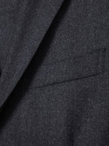 Lissom + Muster 2 Piece Suit Super 120s Wool (Charcoal)