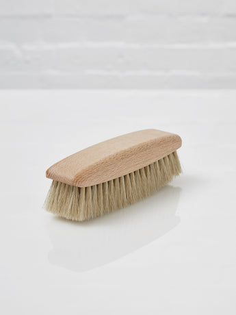 Shoe Polishing Brush (Light Horsehair)