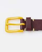 Awling Modernist Belt - Oxblood / Mustard [LIMITED EDITION]