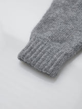 Johnstons of Elgin Women's Fingerless Gloves (Light Grey)