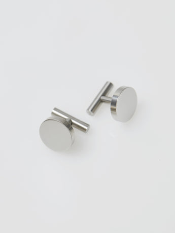 Alice Made This Johnston Cufflinks (Steel)