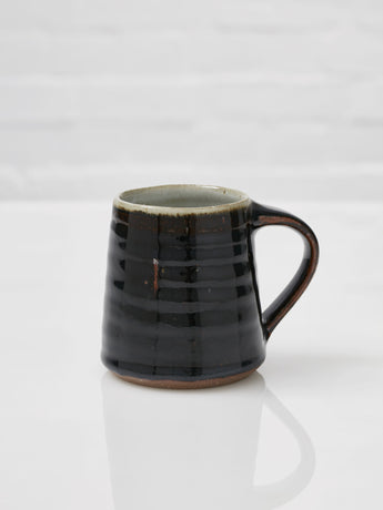 The Leach Pottery Large Mug (Tenmoku Black)