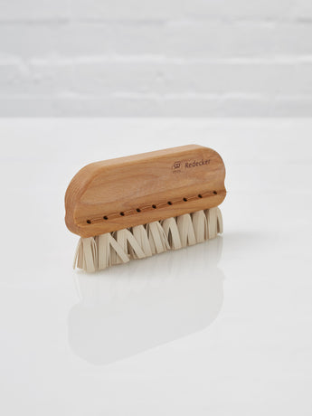 Wire Drawn Lint Brush (Wood and Rubber)