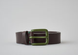 Awling Modernist Belt - Walnut Brown / Olive [LIMITED EDITION]