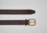 Awling Original Belt - Walnut Brown / Brass