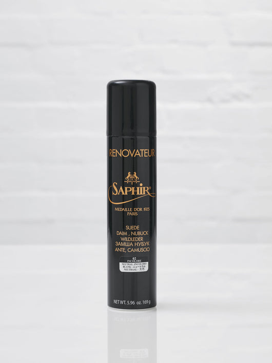 Saphir Suede and Nubuck Renovator Spray 250ml (Neutral)