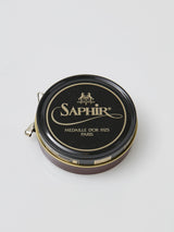 Saphir Pate de Luxe Beeswax Shoe Polish 50ml (Various)