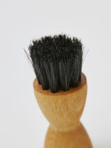Shoe Polish Applicator Brush (Dark Horsehair)