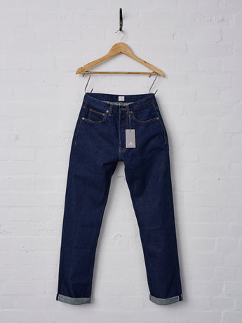 Sunspel Japanese Selvedge Denim Jeans, Made in Lancashire, England.