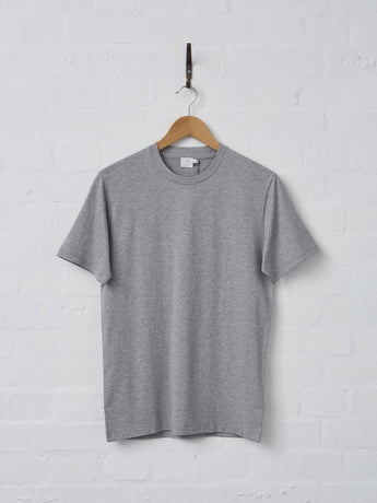 Sunspel Men's Riviera Crew T-shirt (Grey)