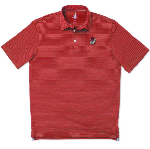 c4b7e05228e University of Georgia Prep-Formance Striped Polo – Empire South