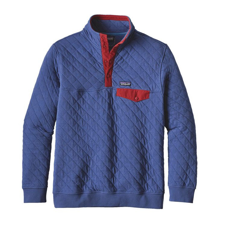 Men's Patagonia Cotton Quilt Snap-T Pullover - Harvest Moon