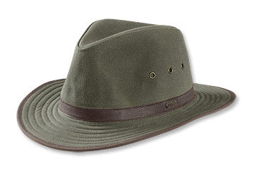 Orvis Oilcloth Outback Hat