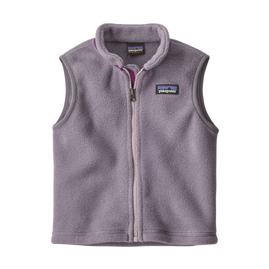 Patagonia Baby Synchilla® Fleece Vest - Smokey Violet