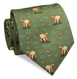 Bird Dog Bay - Bear Necessities Tie - Green