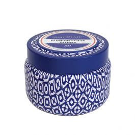 Capri Blue Citrus and Violet Haze - Gilded Muse Collection Faceted Jar