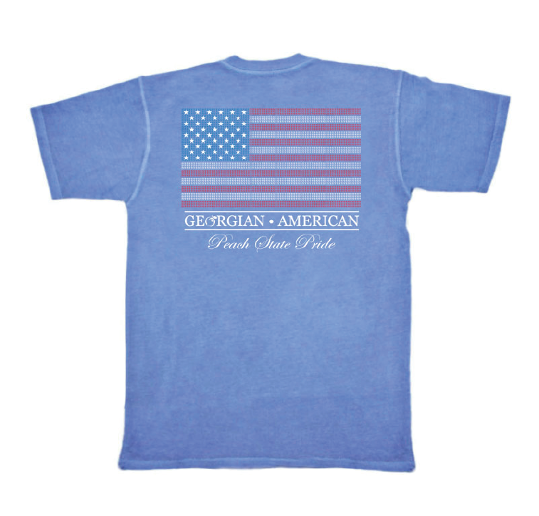 Georgian American Pocket Tee