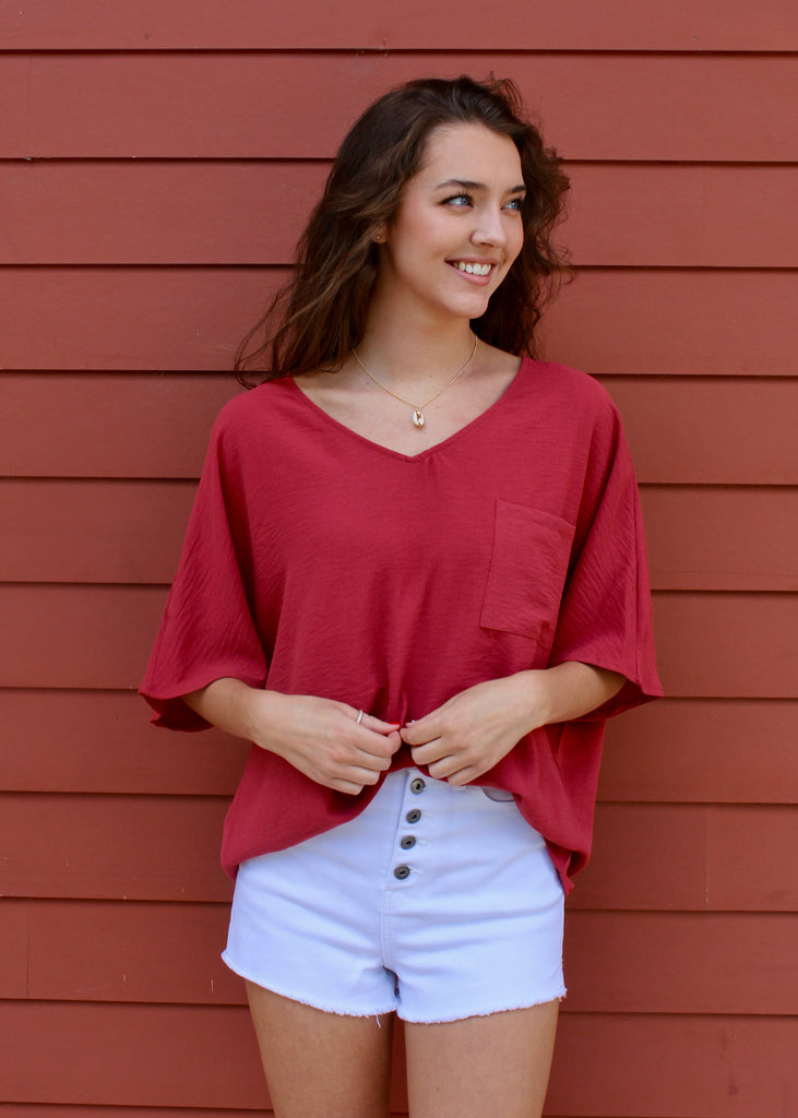 Cheyenne V-Neck Top