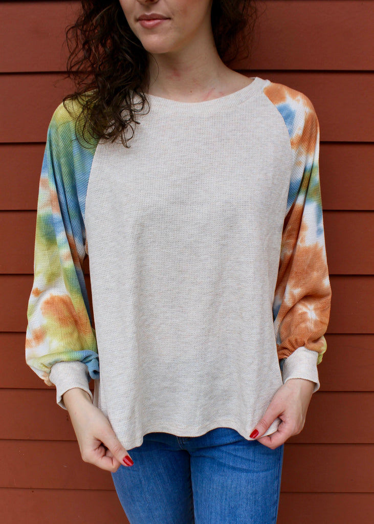 Let's Get Funky L/S Top