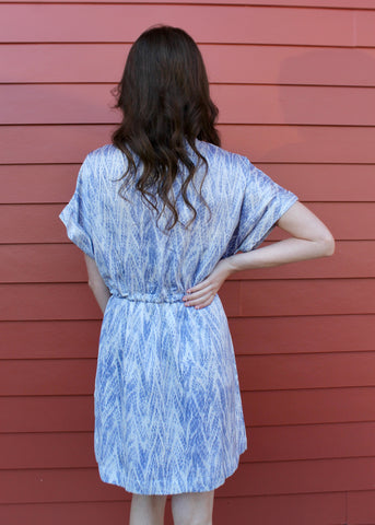 Amaryllis Dress - Denim Blue