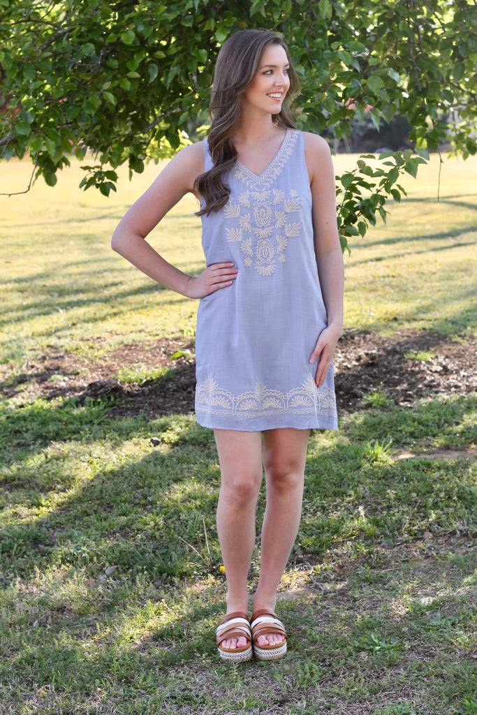 Cielo Dress - Denim