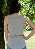 The Perfect Tank - Heather Grey