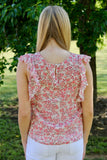 Rose My Mind Blouse - Dusty Rose