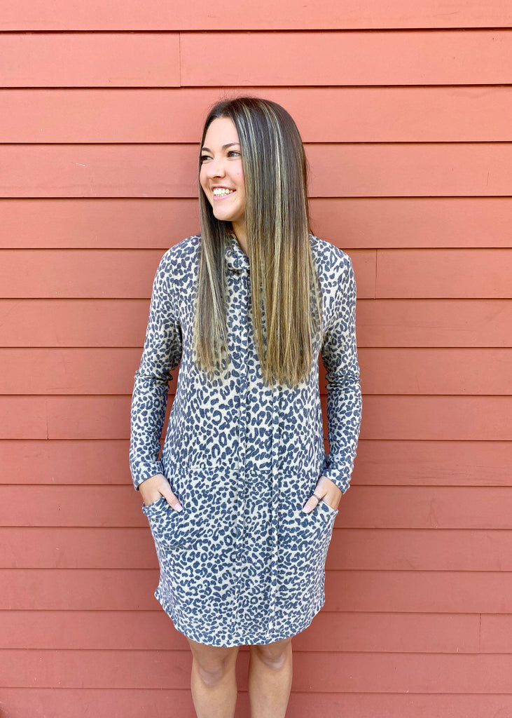 The Dreamy Leopard Dress
