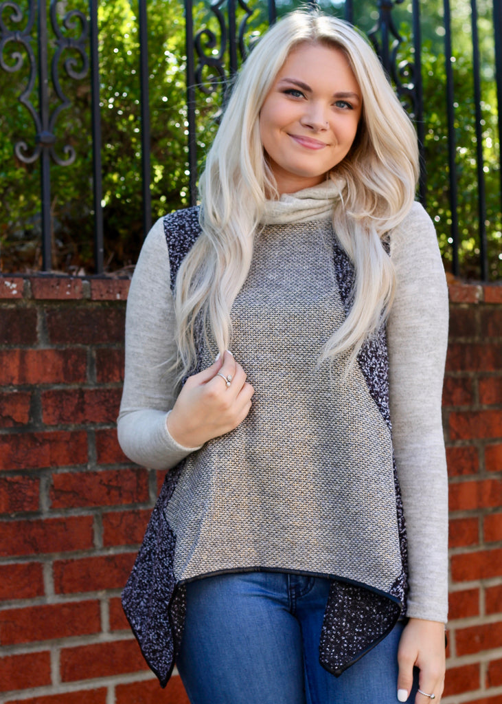 Wendie Oversized Turtleneck Sweater