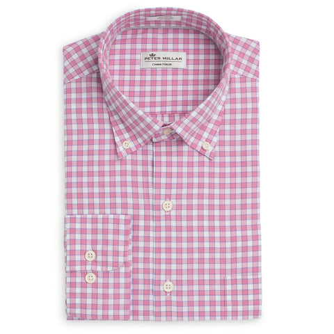 Johnnie-O - Ives Prep-Formance Button Down Shirt - Greenie