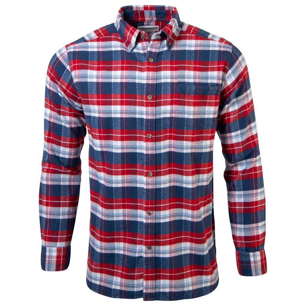Downtown Flannel Button Down Shirt