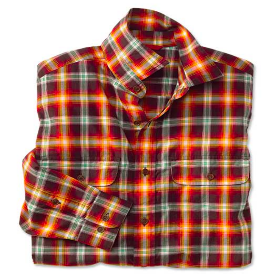 Orvis - Game Bird Plaid Button Down - Wood Duck