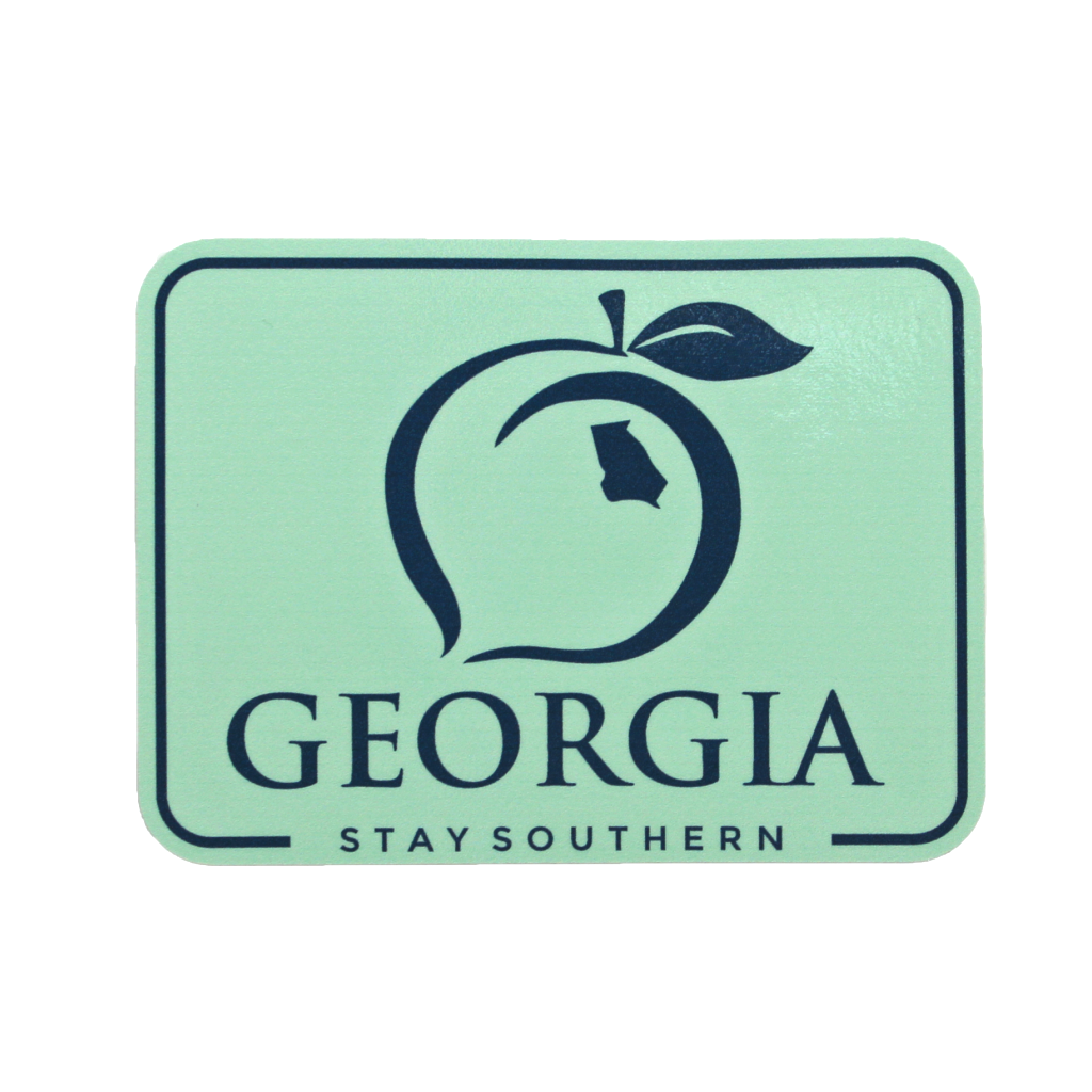 Georgia Patch Decal - Mint