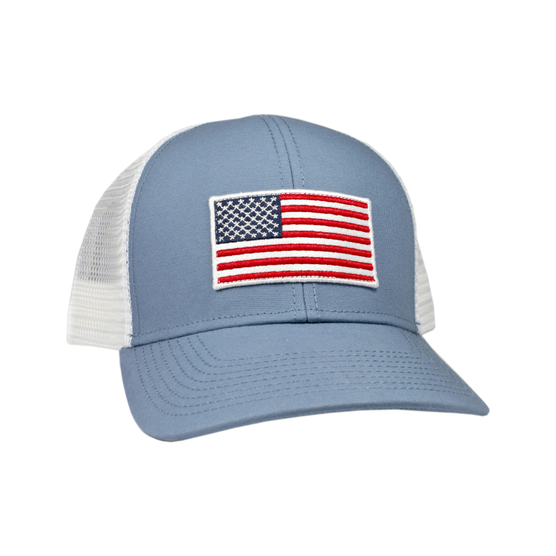 American Flag Mesh Back Trucker Hat – Empire South b9834526f93