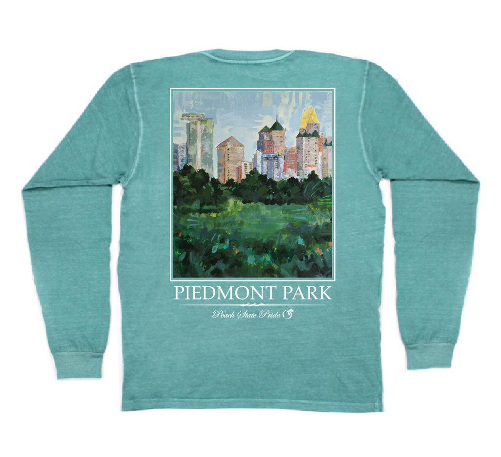 Piedmont Park Long Sleeve Pocket Tee