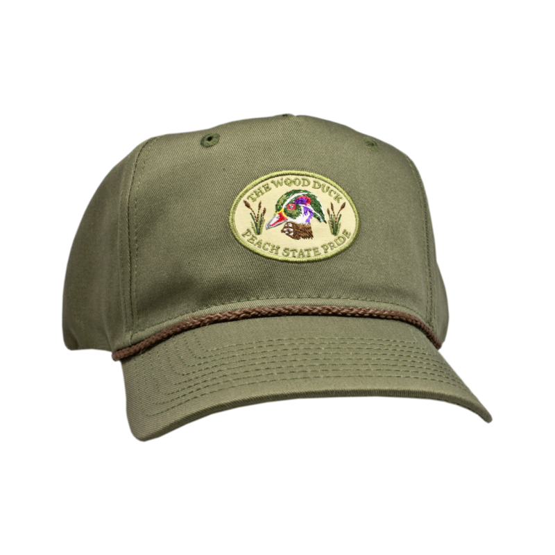 Wood Duck Structured Hat